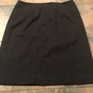 Pretty black pencil skirt size 14